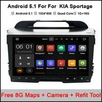 Pure Android 5 11 Quad Core Car DVD Player For KIA Sportage R Sportage 2010 2014