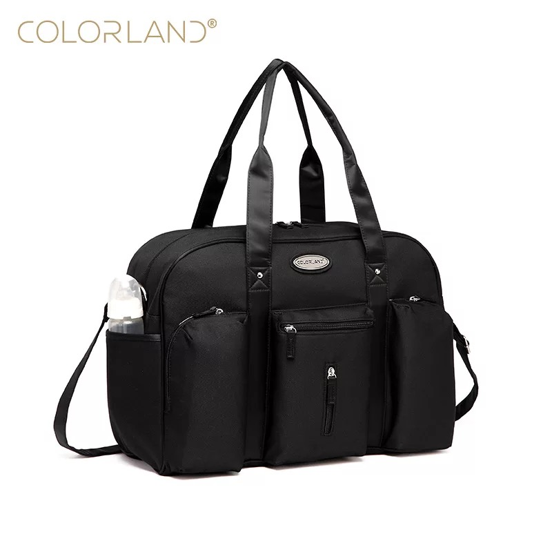 Colorland Baby Fashion Mummy Maternity Diaper Nappy Bag Organizer For Dad Messenger Changing Bags Mother Handbag bolso maternal