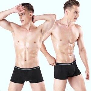 Image 4 - 7pcs/lot Boxer Men Boxer short Sexy Underwear Brand Boxershorts Colorful Breathable Ropa Interior Bokser Homme 95% Cotton Y842