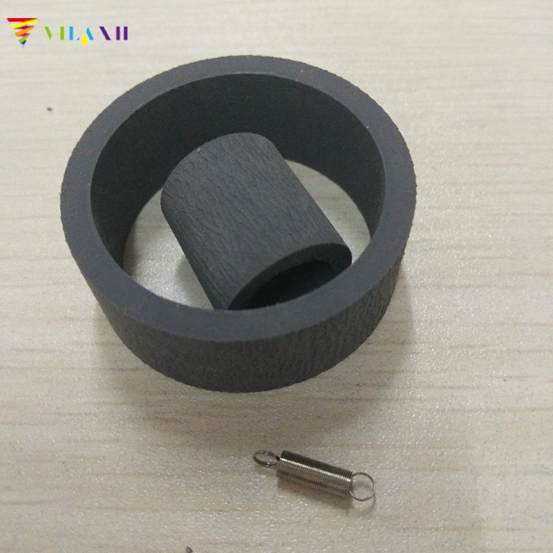 vilaxh For Epson 1410 Pickup Roller for Epson 1390 1410 1430 1400 T1100 B1100 L1300 1900 1800 ME1100 R1800 2000 Printer 1000ml 6 bottles digital textile ink for epson r1800 r1900 r2000 1390 1400 1410 1430 printer bk c m y white pretreatment liquid