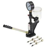 0 400 BAR Common Rail Tool Fuel Injector Max 60 Mpa Nozzle Pop Pressure Tester Calibrator Dual Scale Gauge Diagnostic Metal