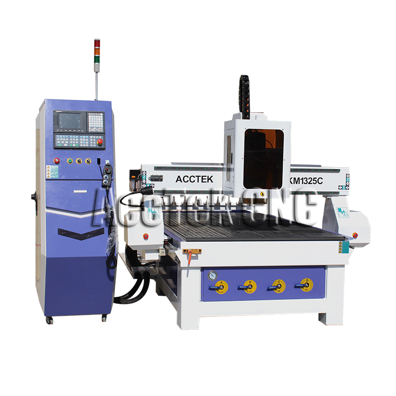Hot sale linear atc engraving machine cnc router metal cutting machine AKM1325C