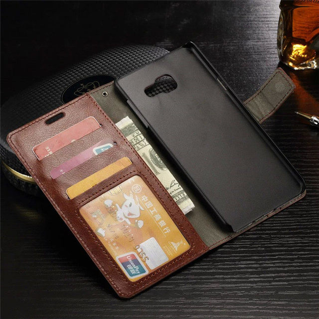 PU Leather Case For Samsung Galaxy A9 2016 A9000 SM-A9000 6.0 Inch Stand Wallet Flip Cover For Funda Samsung A9 2016 Case Capa