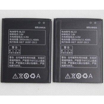 10pcs/lot 3000mAh Phone Battery BL222 For Lenovo S660 S668T BL 222 Internal Mobile Rechargeable Replacment Battery