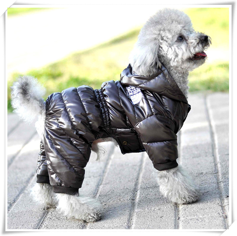 CoolPaw Pet Dog Jumpsuit Thickening Cotton Puppies Body Winter Pets Clothes Pet Warm Down Jacket For Dogs