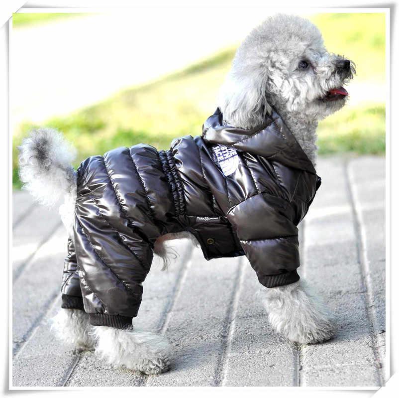 Coolpaw Hewan Peliharaan Anjing Jumpsuit Penebalan Kapas Anak Anjing Tubuh Musim Dingin Hewan Peliharaan Baju Hangat Jaket untuk Anjing