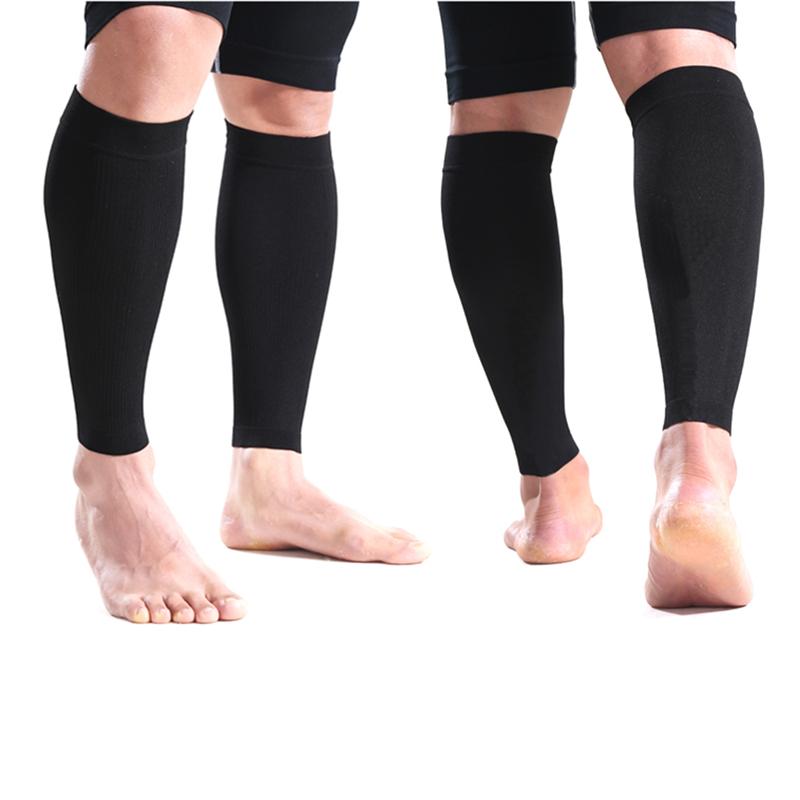 5f6609a6f32ef1 Wholesale- Sports Calf Protectors Sleeve Leg Compression Socks Guard ...
