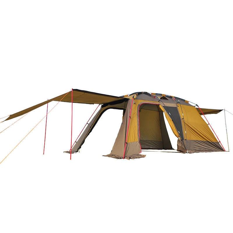 Extérieur 3-4 personnes Double couche imperméable Super grande famille Camping tente