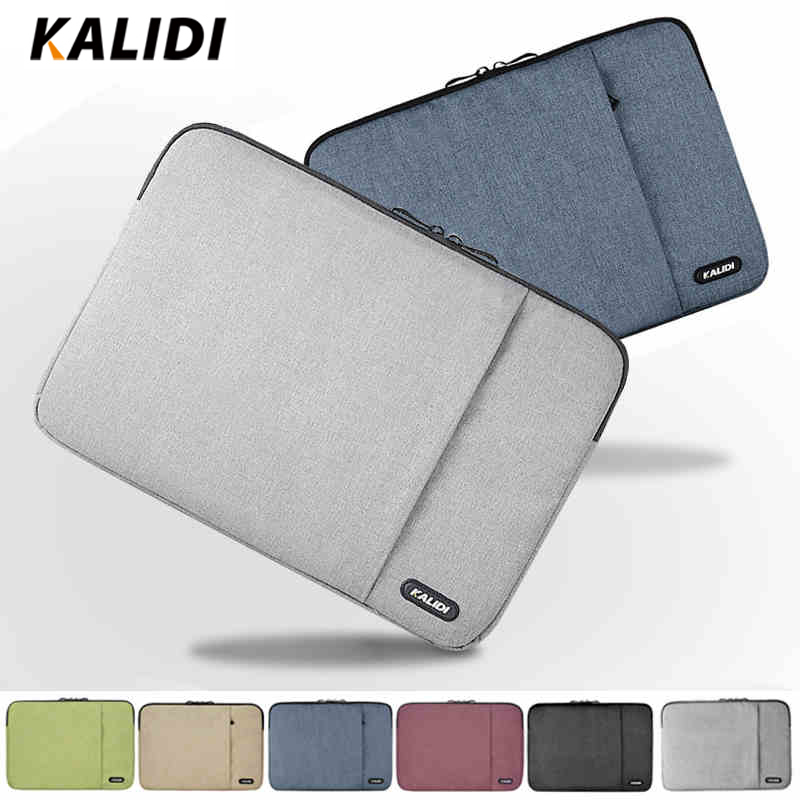 KALIDI Laptop Sleeve Bag Waterproof Notebook Case For Macbook Air 11 13 Pro 13 15 Dell Asus HP Acer Sleeve 13.3 14 15.6 Inch nylon laptop bag case sleeve for xiaomi 13 3 macbook air pro notebook handbag for dell hp asus acer lenovo 11 12 13 15 6