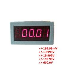 """Высокая точность 0,5"""" 5 цифр Вольтметр постоянного тока цифровой вольт Панель метр светодиодный тестер напряжения манометр монитор"""