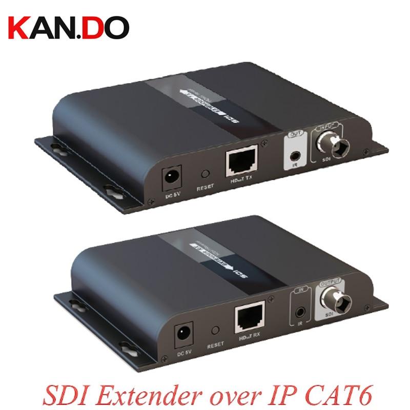 383-sdi POE Hdbitt Extender IP CAT6 Extender With IR Remote SD-SDI HD-SDI 3G-SDI 1080P Sender Receiver Video Transmission BY Poe