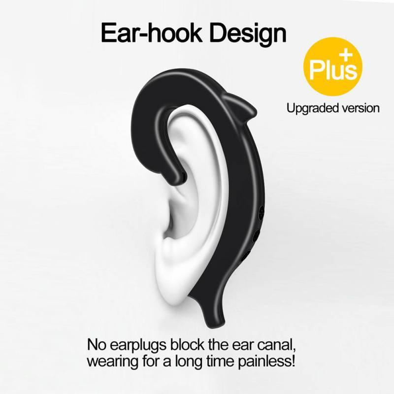 Wireless Bluetooth Earphones Waterproof Bluetooth Earbuds Sports Headset Handsfree Earphone for Bussiness