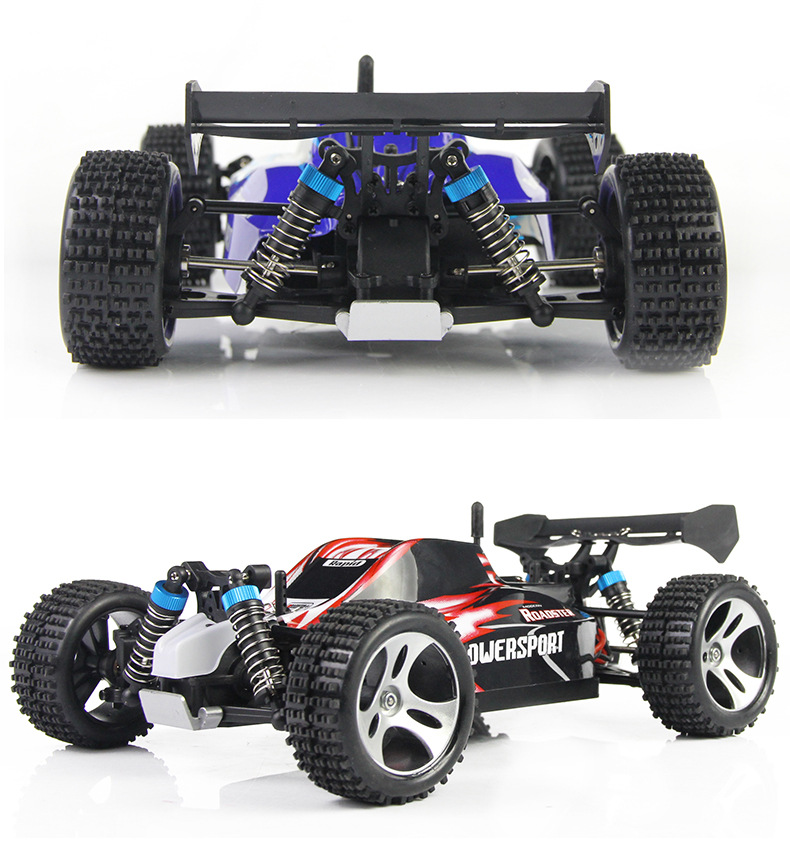 aliexpresscom buy wltoys a959 rc car 50kmh 118 24gh 4wd off road buggy rc car remote control toys for children gift highspeed off road vs a979 from
