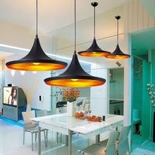Vintage Pendant Lights Loft Pendant Lamp Retro Hanging Lamp Lampshade For Restaurant Bar Coffee Home Drop Lighting Luminarias