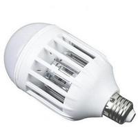 1000lm 7W 2835 SMD 18 LED Lamp Bulb E27/B22 Anti Mosquito Killer Bulb LED Light Bulb 220V Electronic Insect Fly Lure