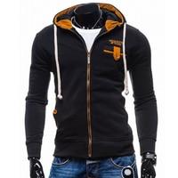 T Bird 2017 New Brand Hoodies Men Sweatshirt Male Fight Color Hooded Zipper Long Sleeve Sweatshirt