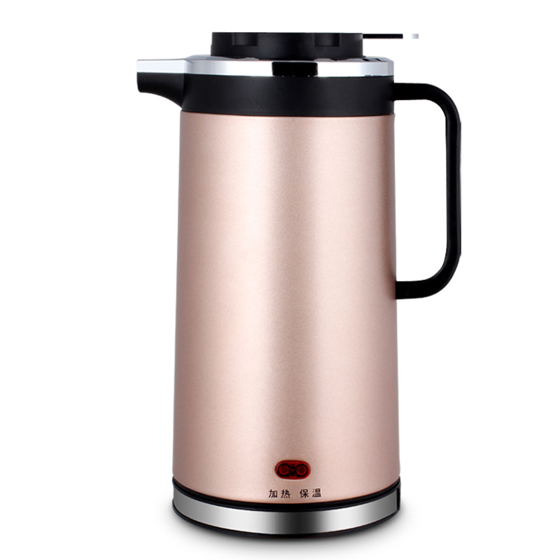 DMWD 1.8L 220V Electric Kettle Quick Heating Water Boiler Stainless Steel Water Heater Teapot Double-layer Heat Preservation цена 2017