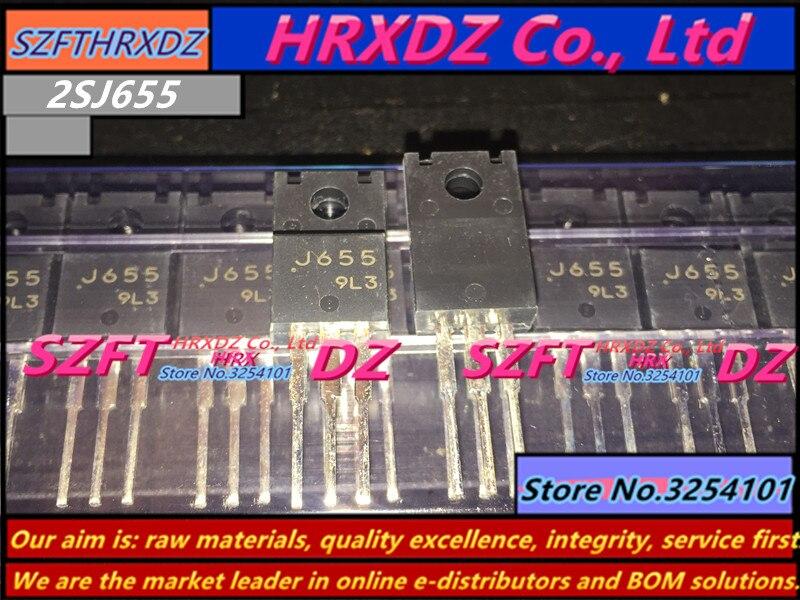 SZFTHRXDZ 5 PCS/10 PCS 100% nouveau importé d'origine 2SJ655 J655 TO-220F