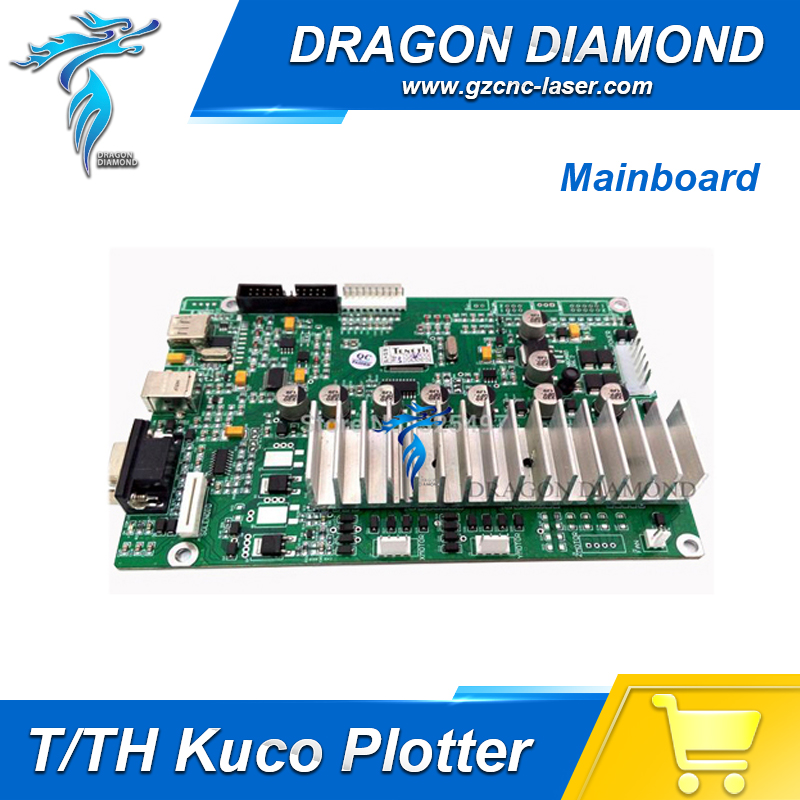 TH/T Series vinyl cutting plotter cutter MotherBoard only support for KUCO Vinyl Plotter with AUTO Contour cutting funtion 1x cb09 graphtec blade holder 1x60 degree 2x45 degree 2x30 blades for vinyl plotter cutter 19mm