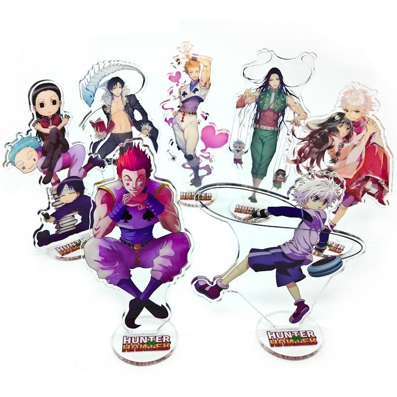 15cm Japanese Anime Figure HunterXHunter Acrylic Action Figure Collectible Model Toys For Boys