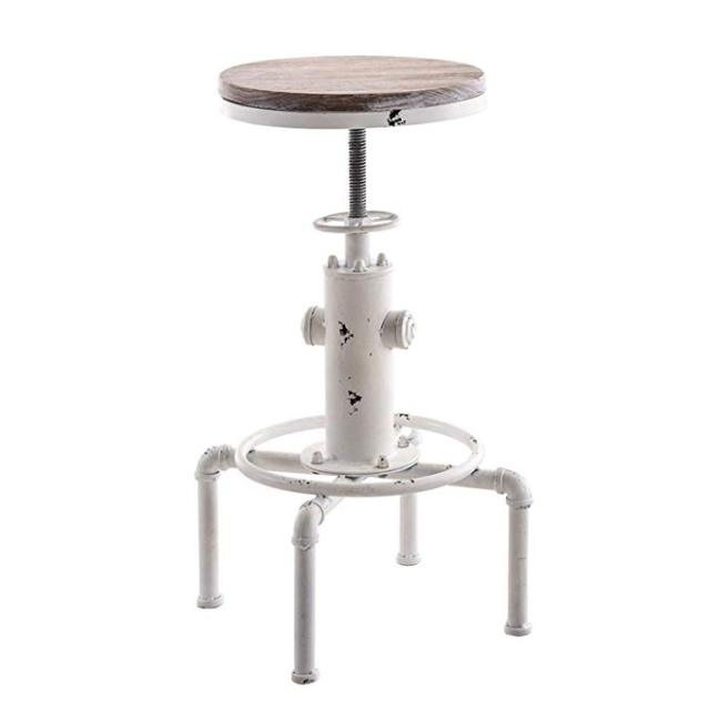 Adjustable Height Chairs Outdoor Table And Set Bar Stools Industrial Metal Chair Fire Hydrant Design Stool Kitchen Swivel Dining