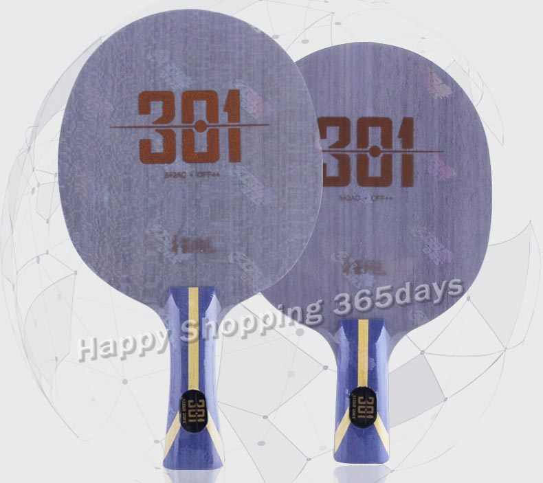 DHS Hurricane 301 H301 Table Tennis Blade ping pong CARBON WITH WOOD racket fast attack for CHINA T.T TEAM
