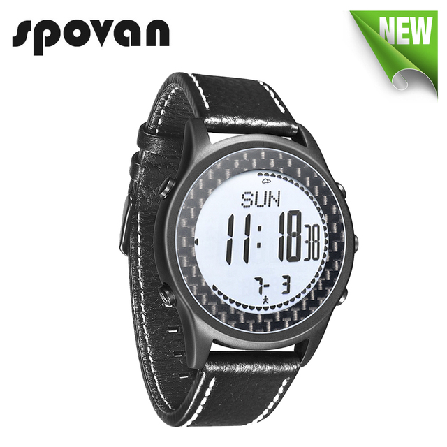 Reloj Hombre SPOVAN Men Sport Watch Waterproof LED Compass Altimeter Pedometer Digital Wrist Watch Clock Saat Relogio Masculino
