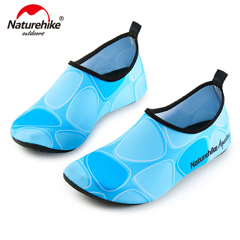 Naturehike Outdoor Swimming Ultralight Elastic Water Shoes Aqua Socks Beach Shoes For Man And Woman NH18S001-X