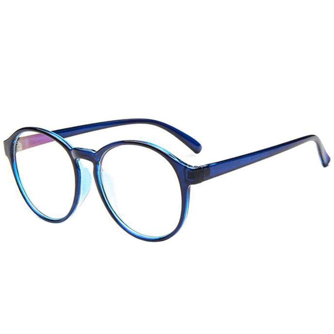 retro vintage frame plain eyeglasses for