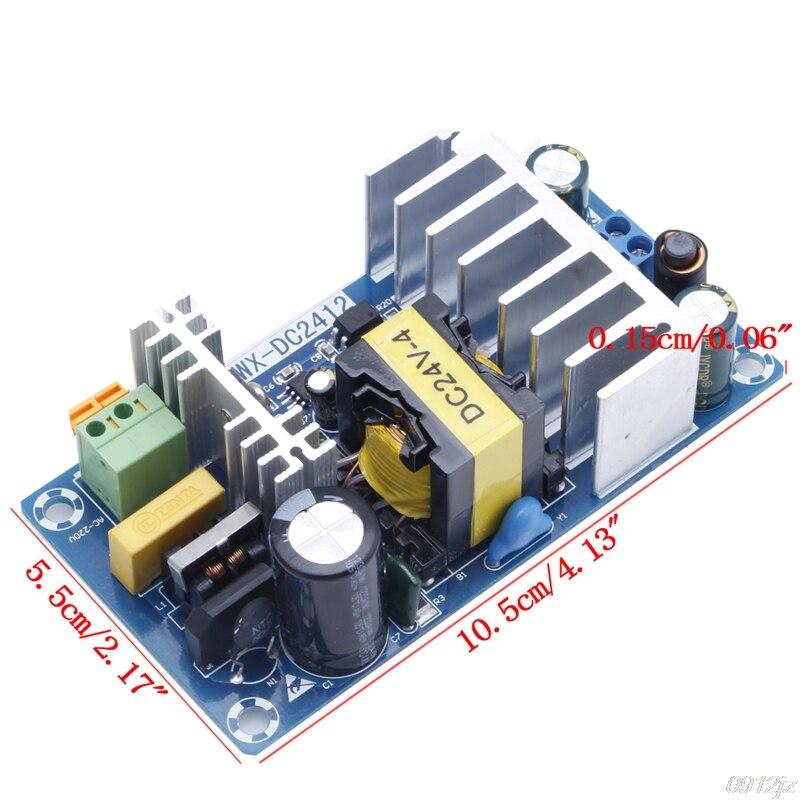Módulo de Alimentação AC 110v 220v para DC 24V 6A AC-DC Switching Power Supply Board New Gota navio