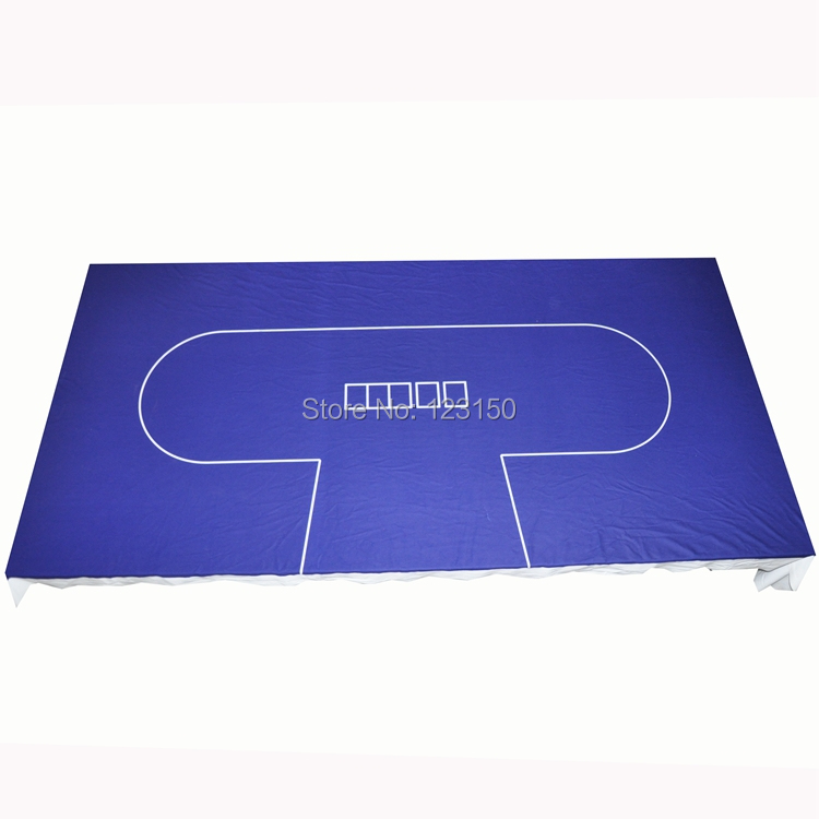 WP-052 Professional Water Resistant Poker Table Cloth, Texas Holdem, 1PC, Free shipping