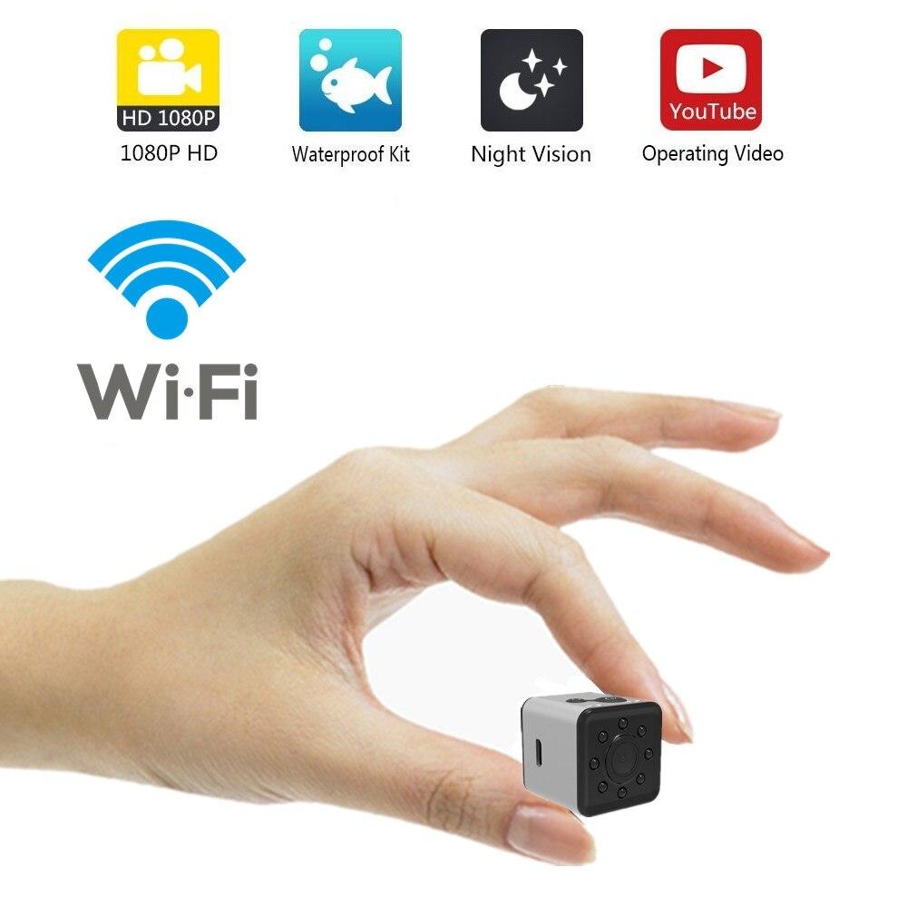 SQ13 WIFI mini caméra petite caméra HD 1080 P capteur vidéo Vision nocturne caméscope Micro caméras DVR enregistreur de mouvement caméscope SQ 13