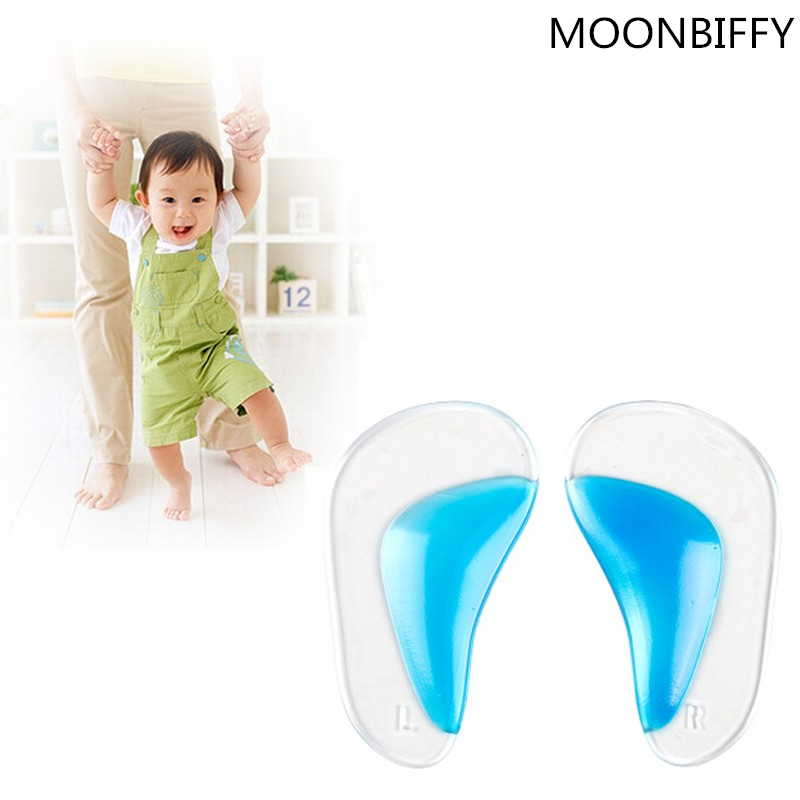 1 pair Professional Orthotic Insole Child Flatfoot Corrector Arch Pain Support Gel Inserts Pads 2016 Hot Worldwide sale dorislen gel orthotic insole child flatfoot arch support inserts pads 100pair lot