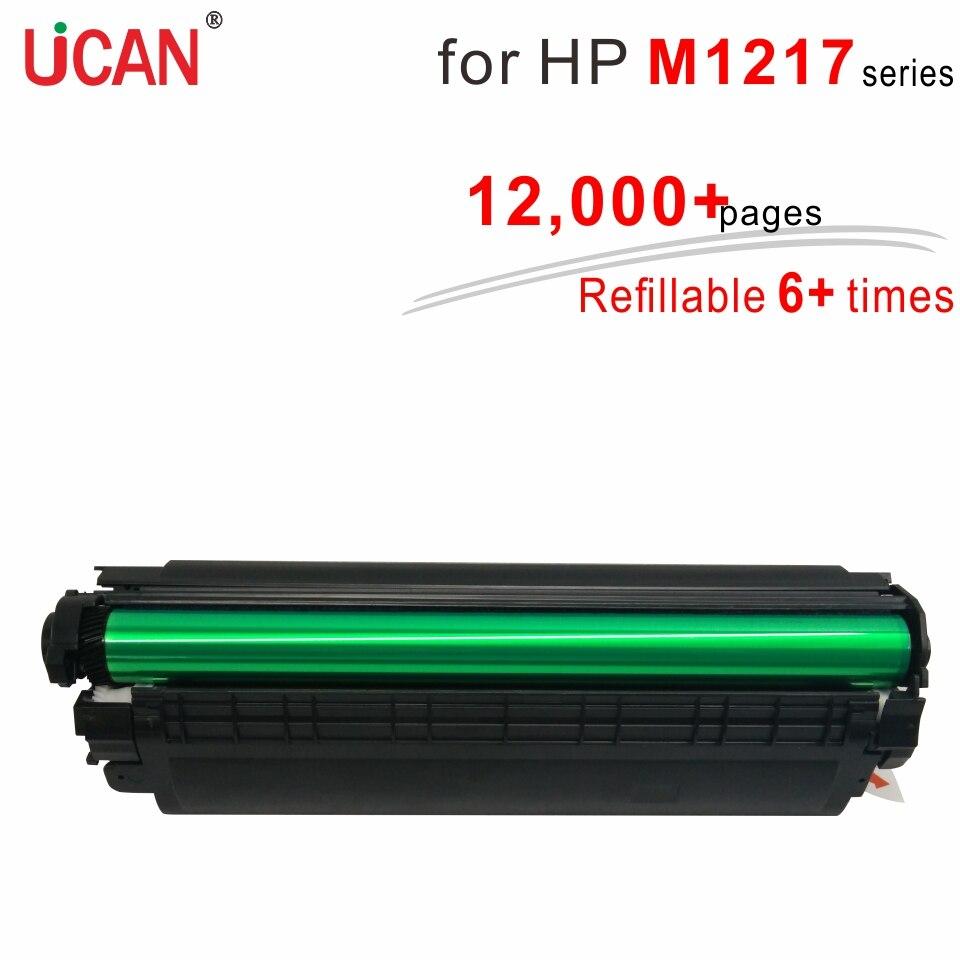 8 Veces Súper Duradero Cartuchos De Tóner CE285A 85A Compatible Hp Laserjet M1214 M1217 M1217nfw M1219nf Impresora
