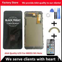 F & Y QYJOY AAA Qualität LCD + Rahmen Für MEIZU M1 NOTE Lcd Display Bildschirm Ersatz Für MEIZU M1 HINWEIS Digiziter Aseembly
