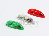 3pcs/set EasyLight LED Position Light Wireless Navigation Light Version 2 for RC Aircraft Part (Red Green White LED)