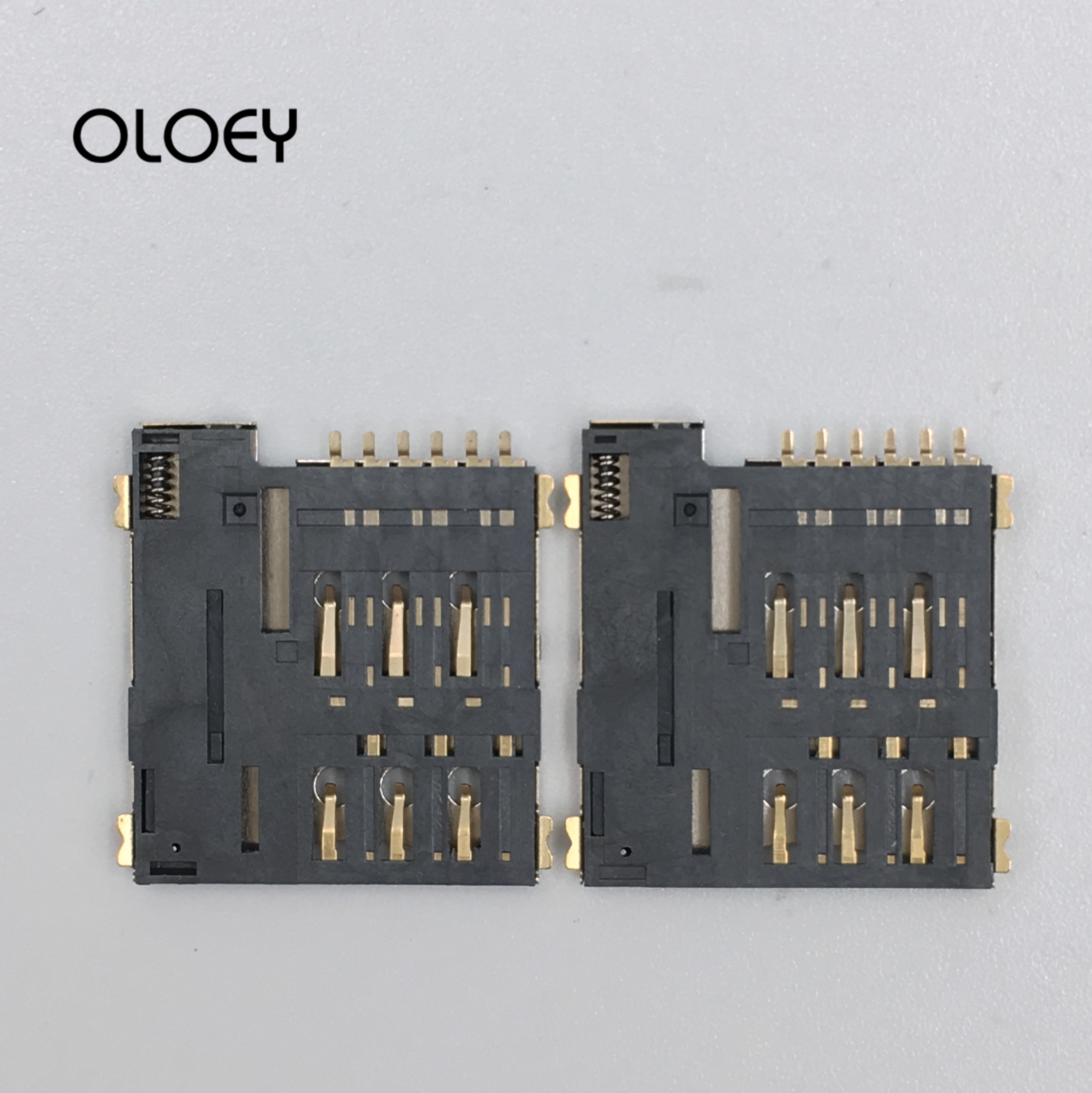 Mirco SIM Card, Automatic Pop-up, High Temperature Resistance, Reflow Soldering Can Be Used