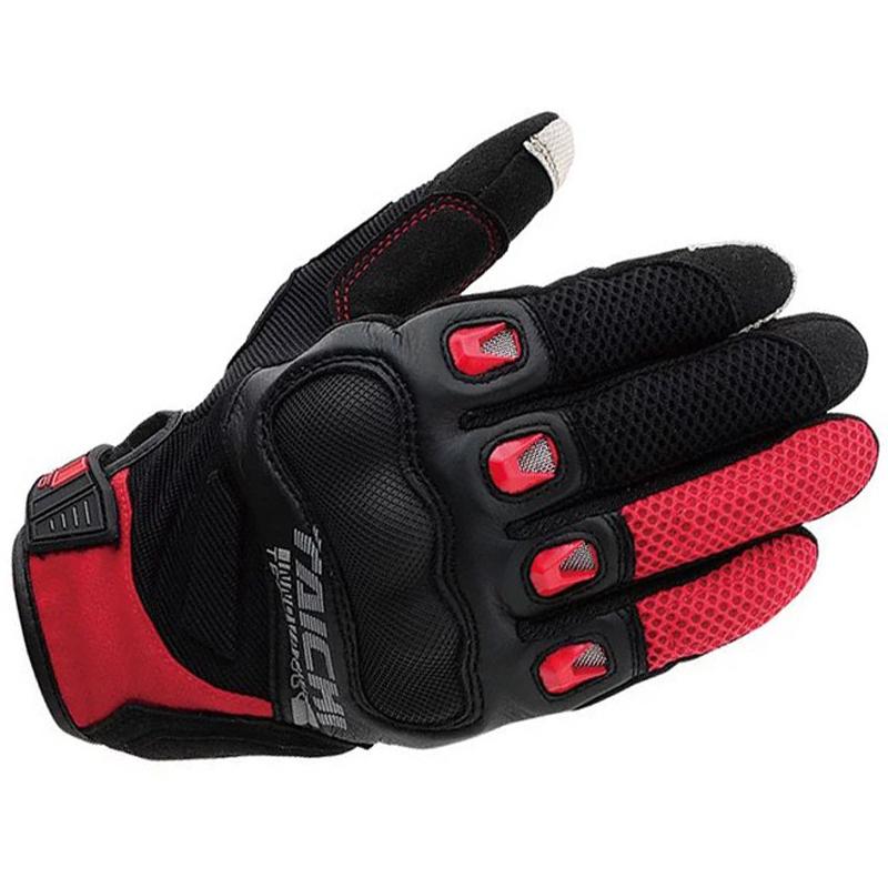 Prix pour Écran tactile moto complet doigt chevalier d'équitation gants d'été maille motobike gants racing gants moto taille s m l xl