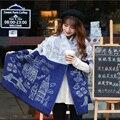 Luna&Dolphin Women Scarves Wool Cotton Winter Warm ZA England Big Ben Print Ladies Big Shawls Scarves Pashmina Blanket Scarf