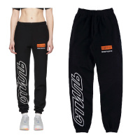 19ss Heron Preston Pants Men Women High Street Harajuku Drawstring Tracksuit Joggers Gym Sports Pants Heron Preston Trousers