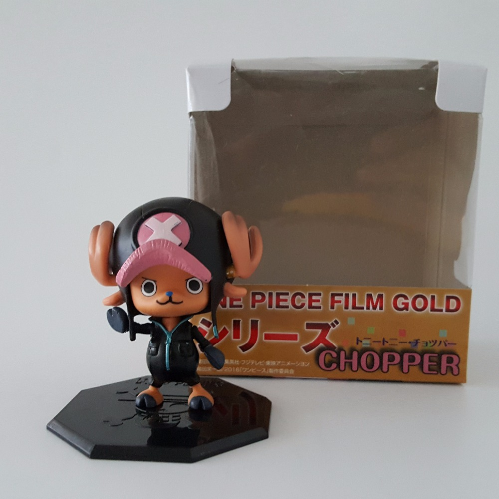 figura de ação one piece tony tony chopper pvc 70mm filme versão