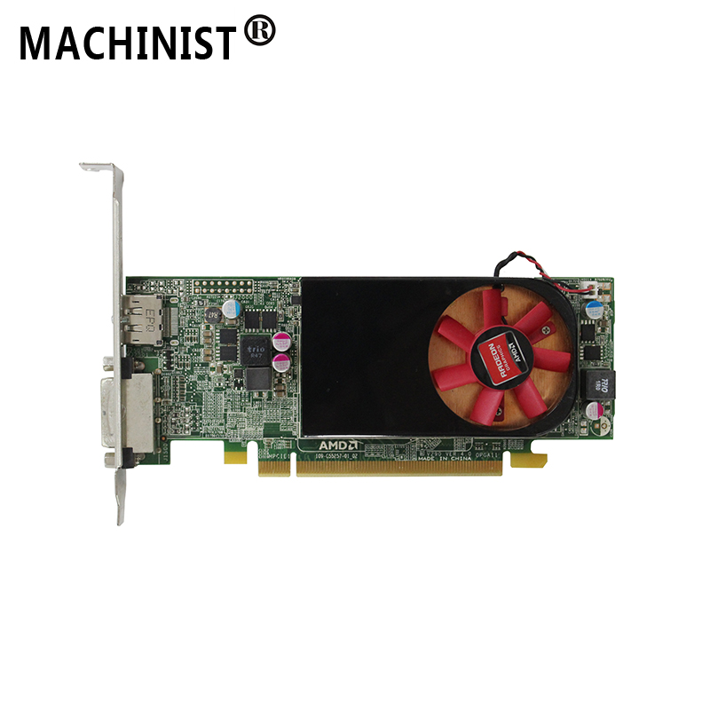 AMD Radeon R7 250 2G DDR3 desktop Video Graphic Card GPU DP DVI Output interface For Dell V290 09C8C0AMD Radeon R7 250 2G DDR3 desktop Video Graphic Card GPU DP DVI Output interface For Dell V290 09C8C0