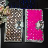 Xiaomi Redmi 4A Case Redmi 4A Flip Wallet Cover 5 0 Jewelled Phone Bags Diamond Leather