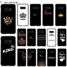 Lavaza Queen and King Soft Case for Galaxy Note 8 9 S7 edge S8 S9 S10 Plus S10e M10 20 30 Cover