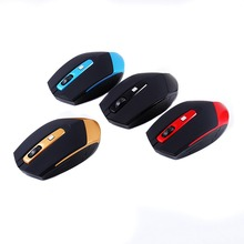 LED Optical 10M Distance Classical Wireless Mouse 2.4G USB Receiver Gaming Mouse for Home Office Laptop PC Computer T20