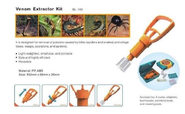 Venom Vacuum Extractor First Aid Kit 4