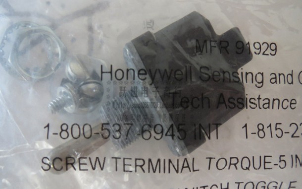 1NT1-7 Honeywell imported American waterproof dustproof 3 foot bilateral reset button shaking switch 12MM1NT1-7 Honeywell imported American waterproof dustproof 3 foot bilateral reset button shaking switch 12MM