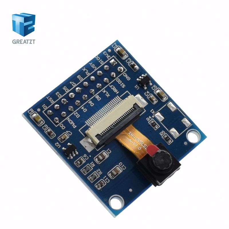 US $3 76 6% OFF|1PCS OV7670 VGA Camera + FIFO Buffer AL422B module, 640x480  0 3MP CMOS, I2C-in Integrated Circuits from Electronic Components &