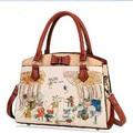 2016 Fairy Tale Cute Cartoon Character Handbag Squirrel Animal Print Sweet Lolita Ladies Tote Bag/One Shoulder/Messenger Bag