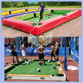 7.8m Long Snooker Pool Table ,26ft  Giant Pool Table ,Inflatable Snookball Table Tennis Play Snooker Soccer Game
